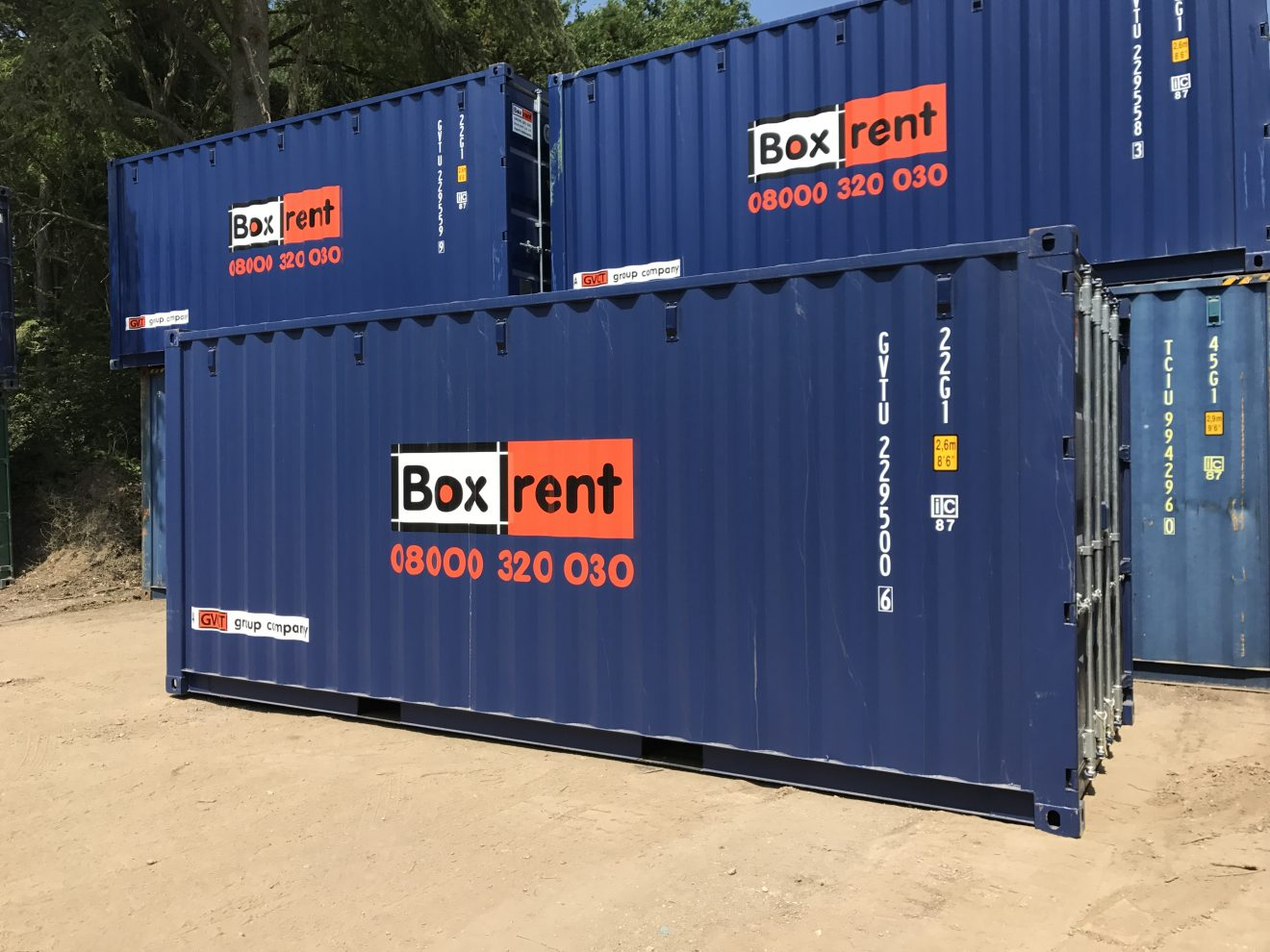 20ft container rental/hire image