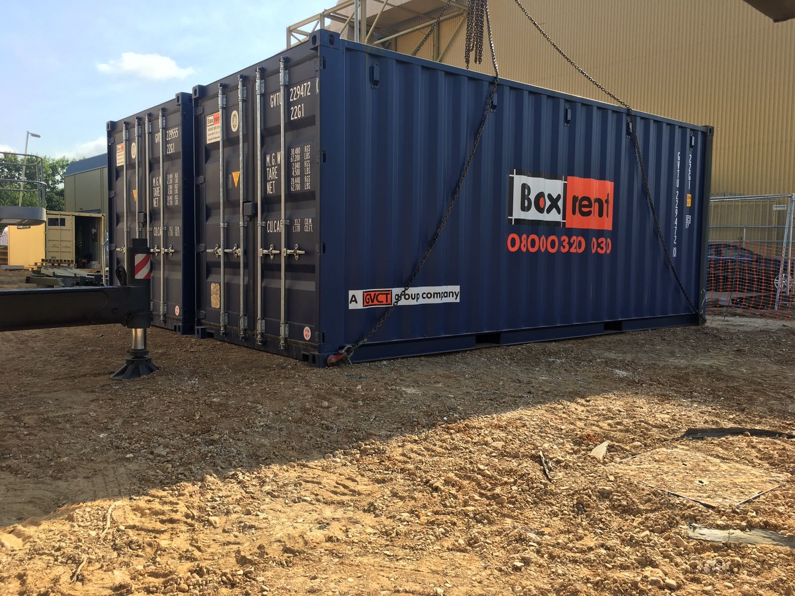 containers at levesdon ing