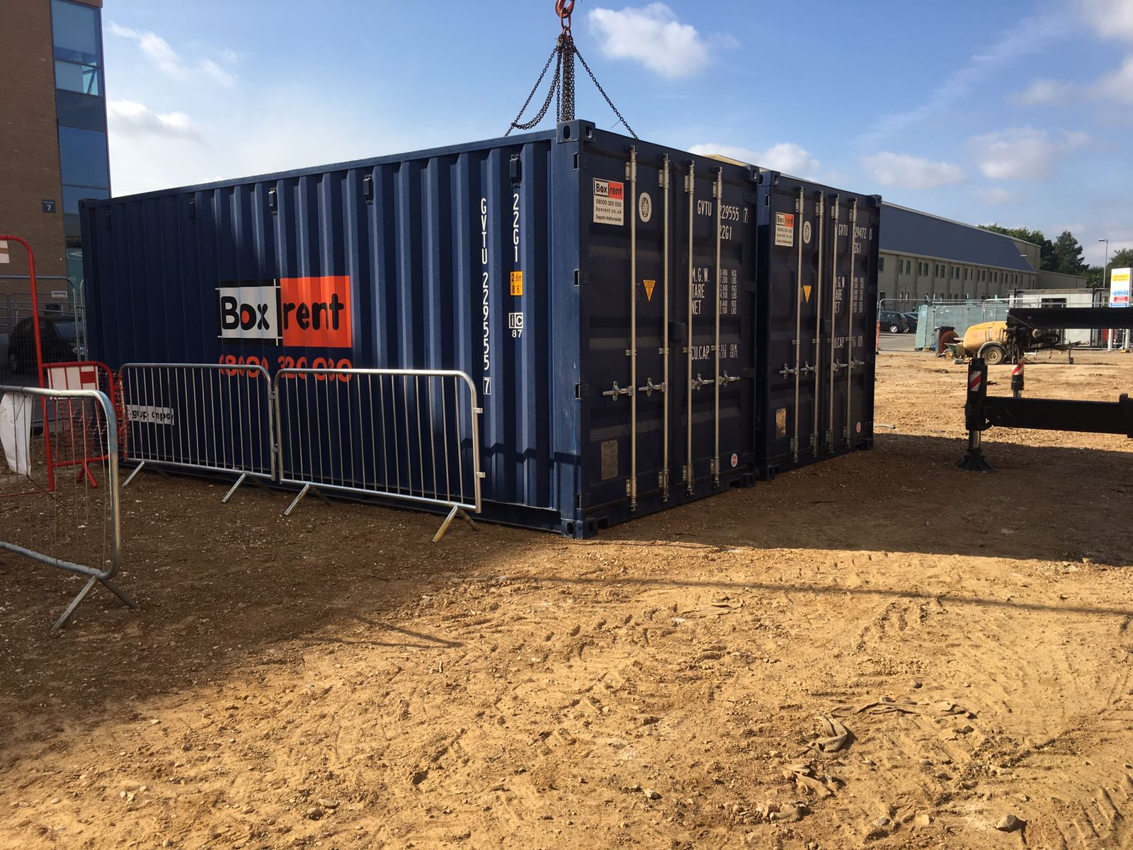 storage container rental at Levesdon img2